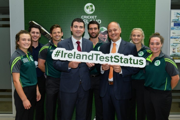 Image result for irish cricket full test status