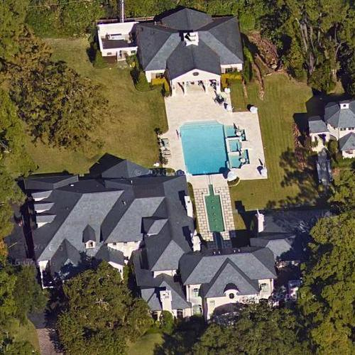 Joel Osteens House In Houston TX Bing Maps 2