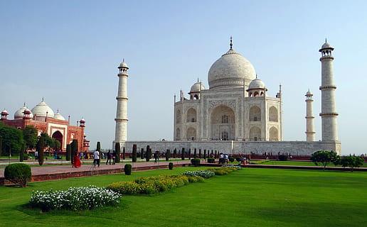 Hd Wallpaper India Taj Mahal Agra World Hd Wallpaper Hd Wallpapers Wallpaper Flare
