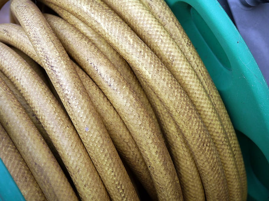 What to Do with Old Garden Hoses