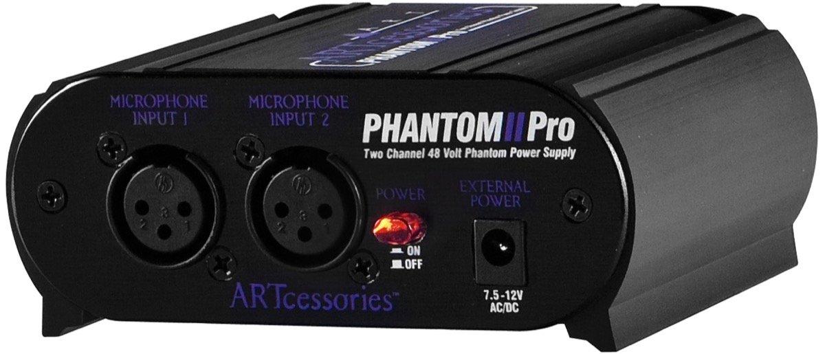 ART Phantom II Pro Phantom Power Supply