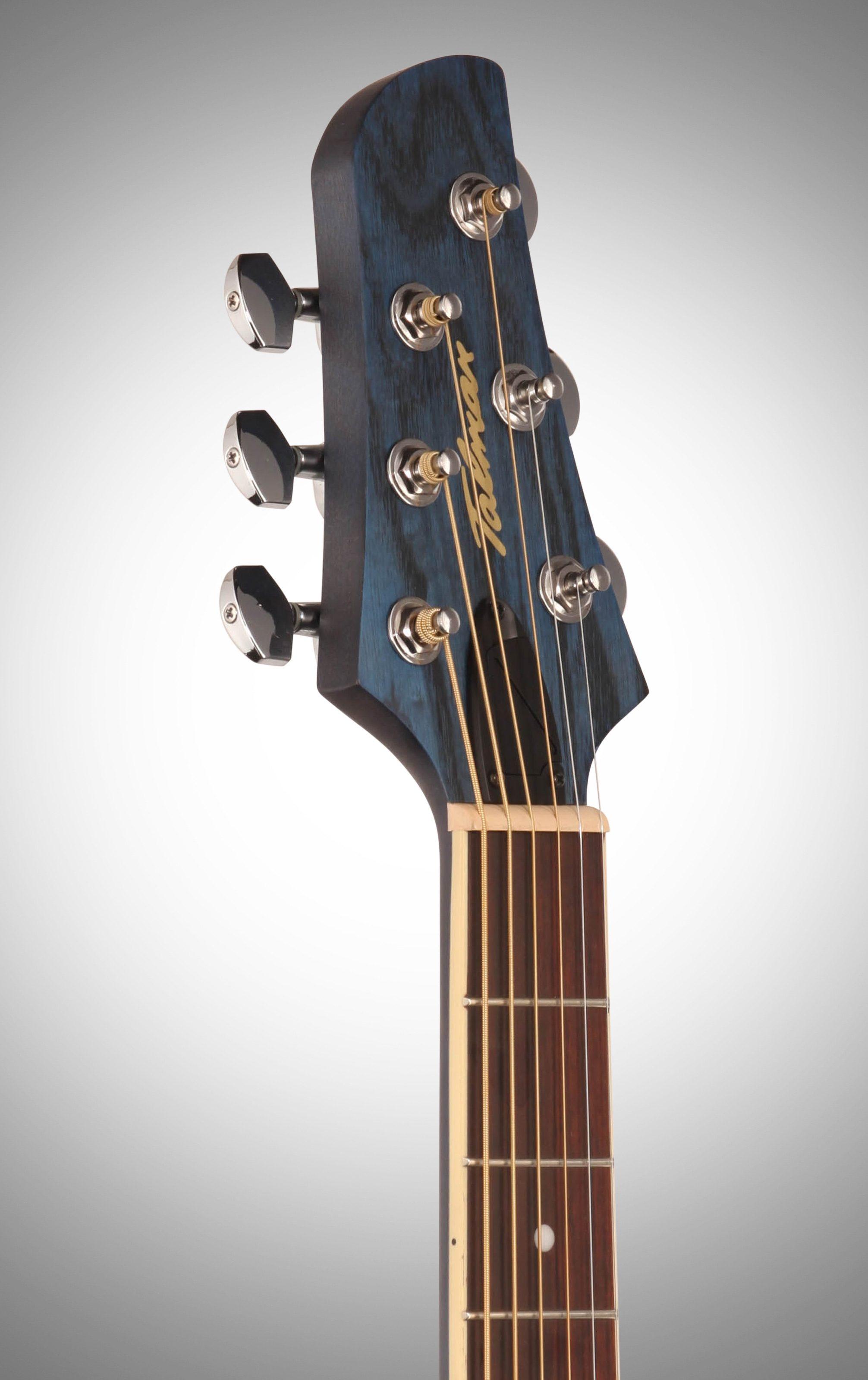 Ibanez Tcm50 Talman Cutaway Acoustic Electric Guitar Dark
