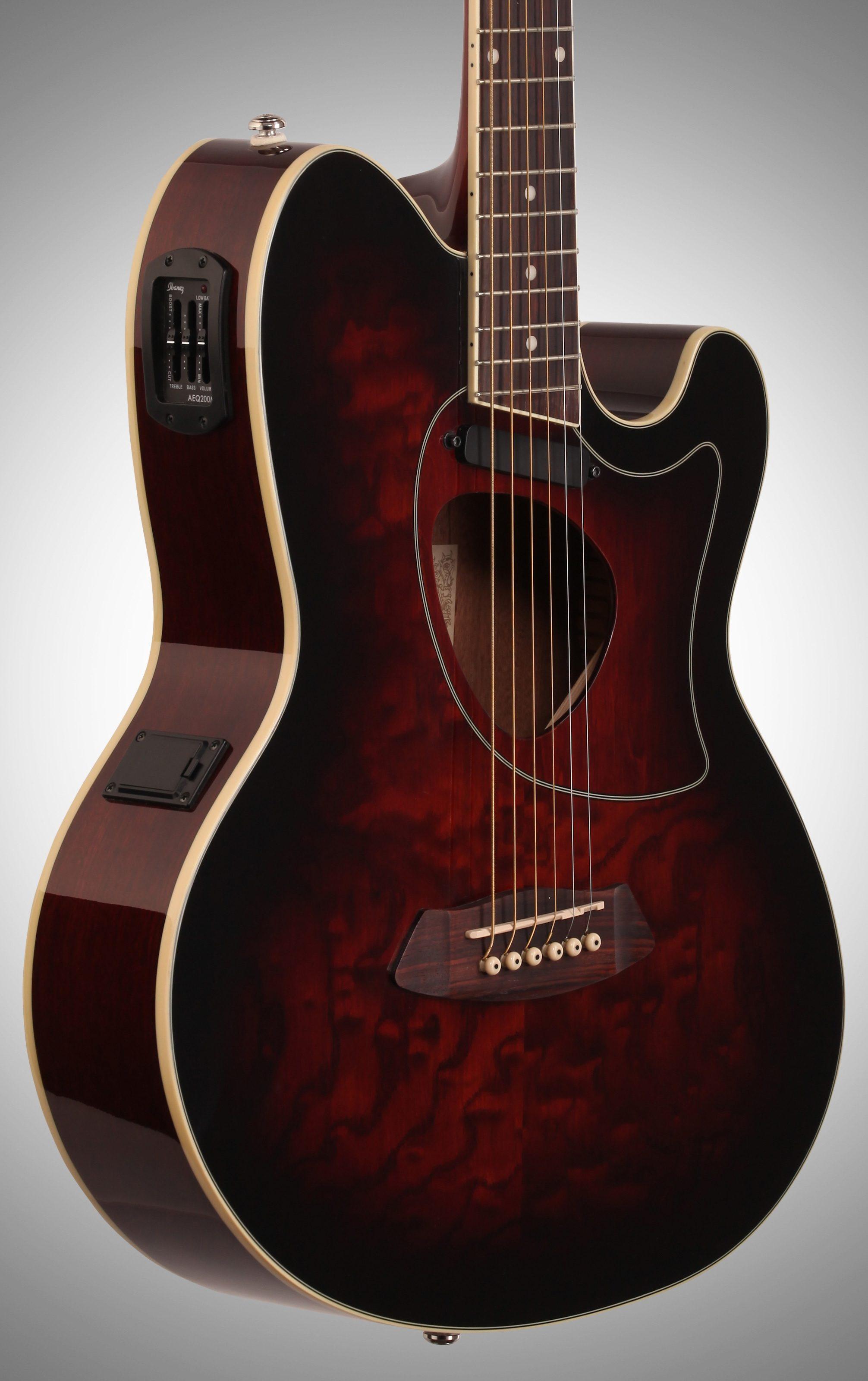 Ibanez Tcm50 Talman Cutaway Acoustic Electric Guitar
