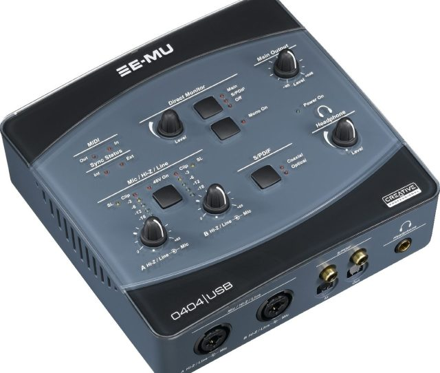 E Mu 0404 Usb Interface