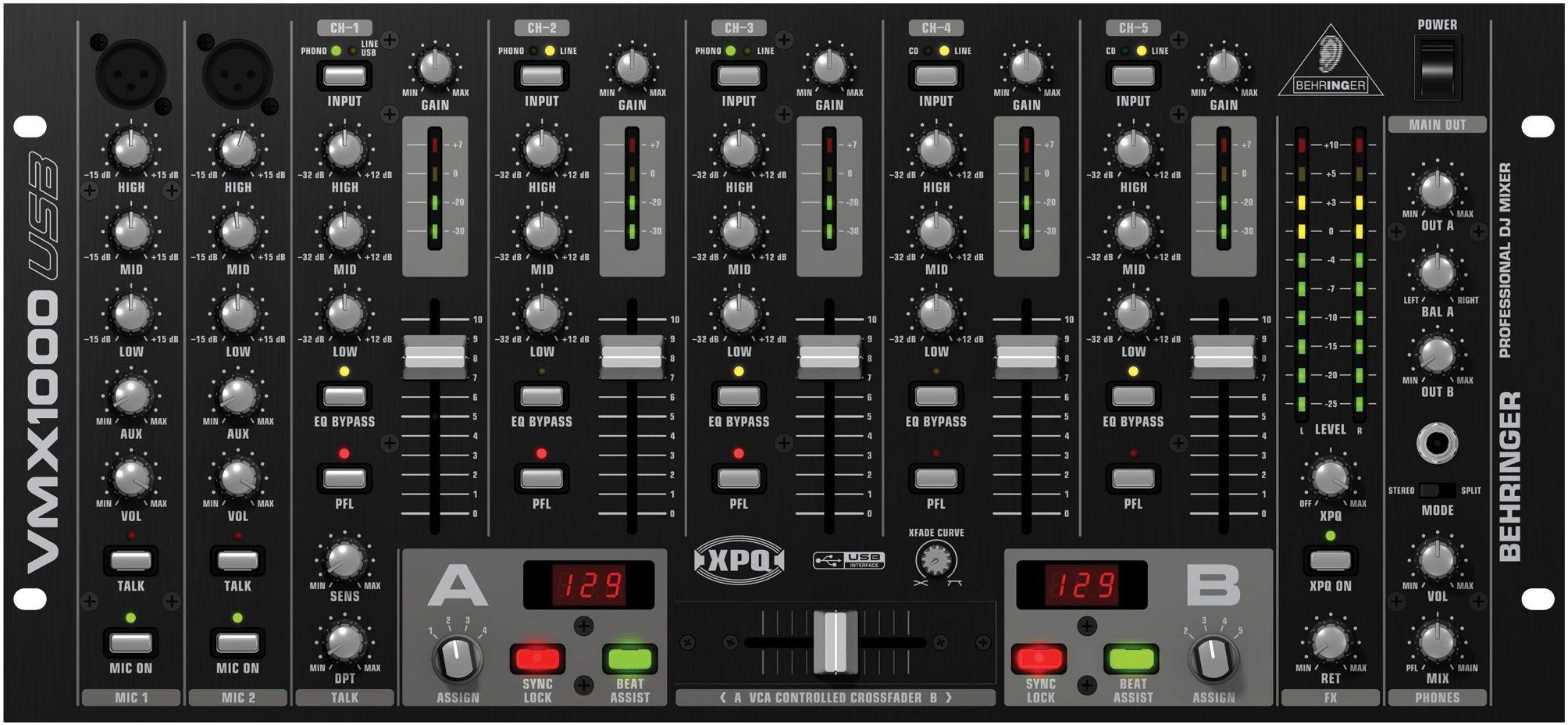 Channel Digital Behringer 16 Mixer