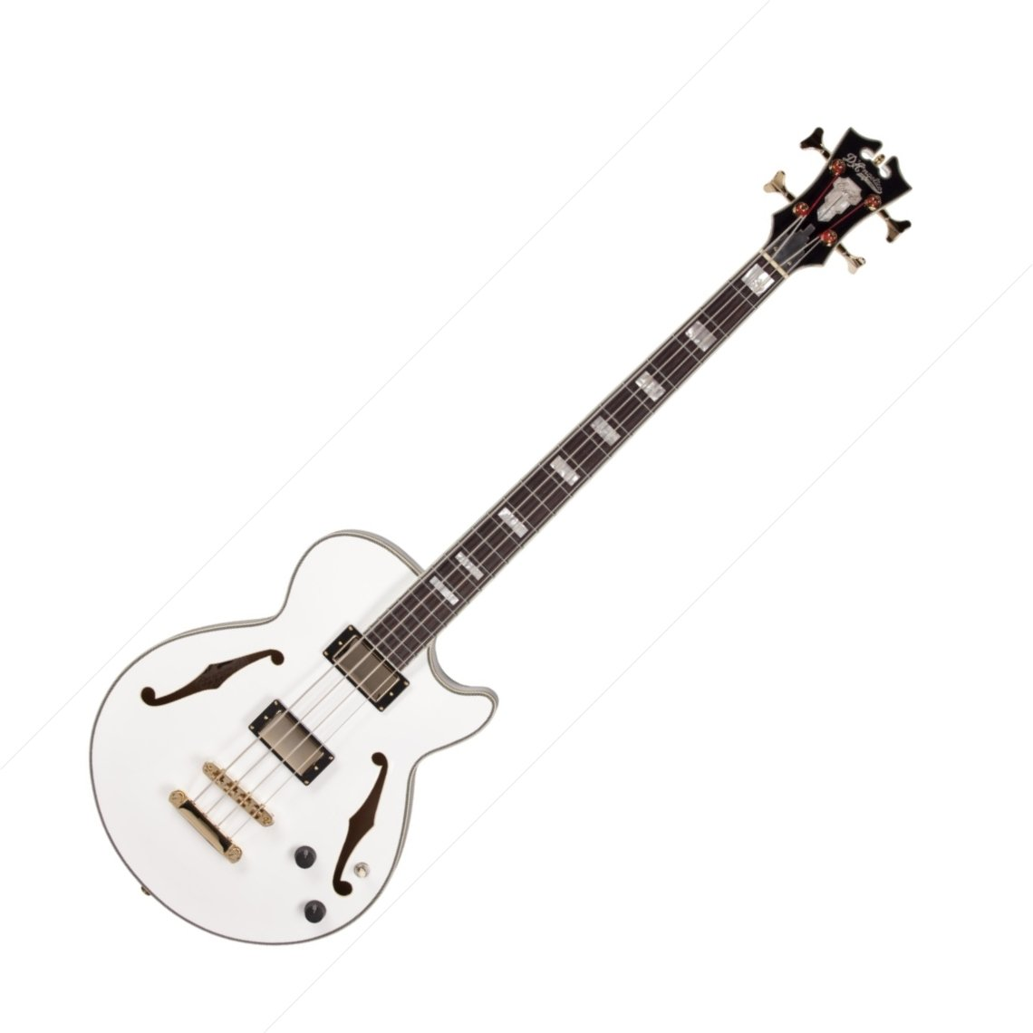 D Angelico Exbass Semi Hollowbody Electric Bass At Zzounds