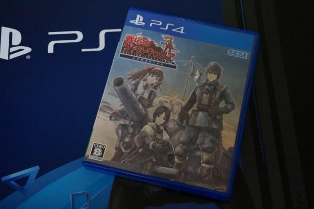 PS4 proと初代ヴァルキュリア