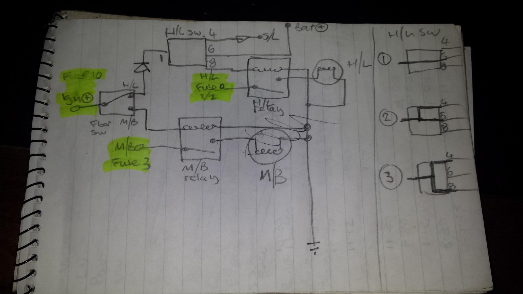 Electrical Micra Mini Project Bmw Wiring Diagram Spaghetti Second The Wipers Didnt Work At All And Kept Blowing Fuses This Time My Design Was Right But Id Messed Up Implementation Two Wires Were Reversed