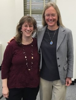 Shaffer with Professor Nancy Henry (UTK)