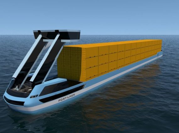 electric barge