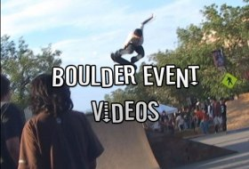 Boulder Event Videos