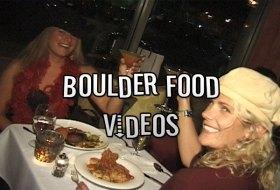 Boulder Food and Restaurant Videos