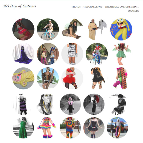 365 Days of Costumes