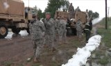 Colorado Guard Sandbag Operations