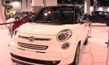 2014 Fiat 500L Display at the 2013 Denver Auto Show