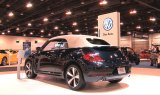 VW Beetle Convertible Display at the 2013 Denver Auto Show