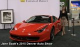 Ferrari of Denver at the 2015 Denver Auto Show