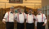 Just a Minute Barbershop Quartet at OMeara Ford 100th Anniversary