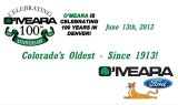 O'Meara Ford - 100 Anniversary Celebration
