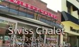 Swiss Chalet Watch and Clock Shop Ad