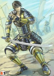 「鎧武者」