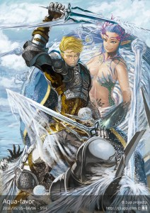 「Aqua-favor/ウェルの寵愛の騎士」2016/05/15~06/06 - 55H