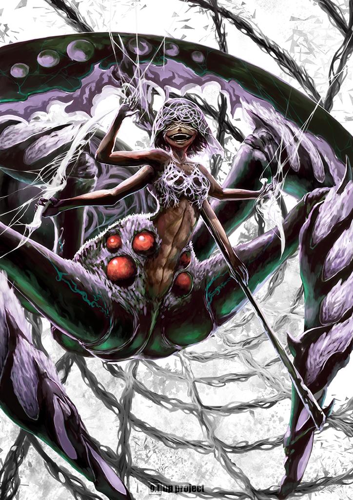 「死神蜘蛛」