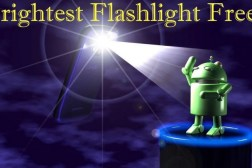 Brightest Flashlight app scam