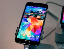 Samsung Galaxy S5 Hands-on