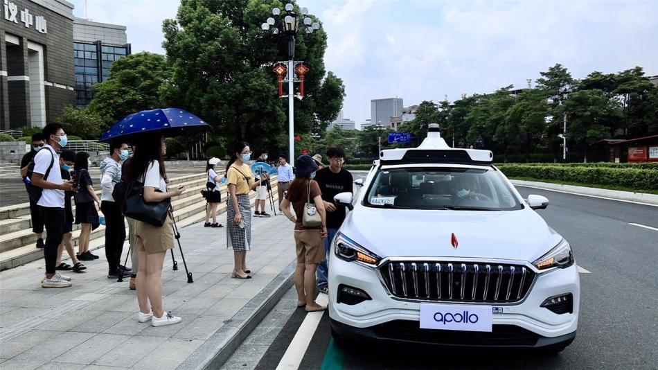 Baidu's Apollo opens Robotaxi service in Guangzhou - Gasgoo