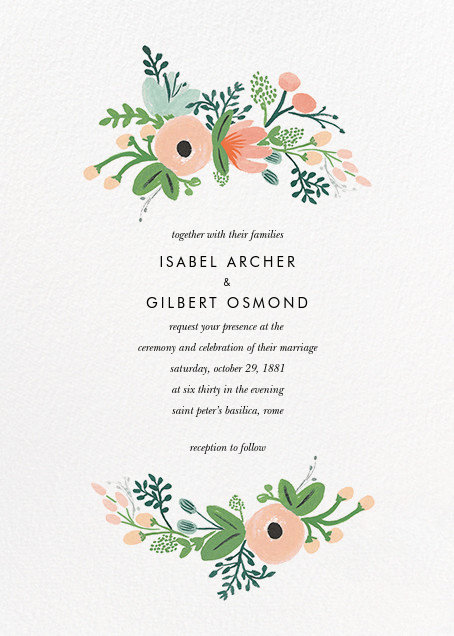 Wrapped In Wildflowers Suite Invitation Online At