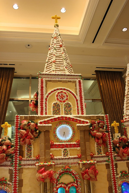 St. Louis Cathedral in Gingerbread at Harrah's, New Orleans
