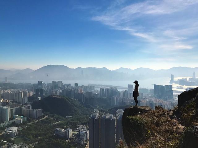 飛鵝山自殺崖・行山路線   Life's a Climb – U Blog 博客
