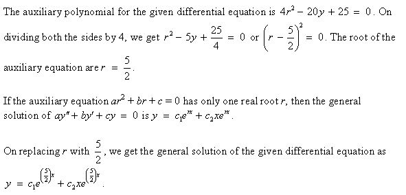 Stewart-Calculus-7e-Solutions-Chapter-17.1-Second-Order-Differential-Equations-22E