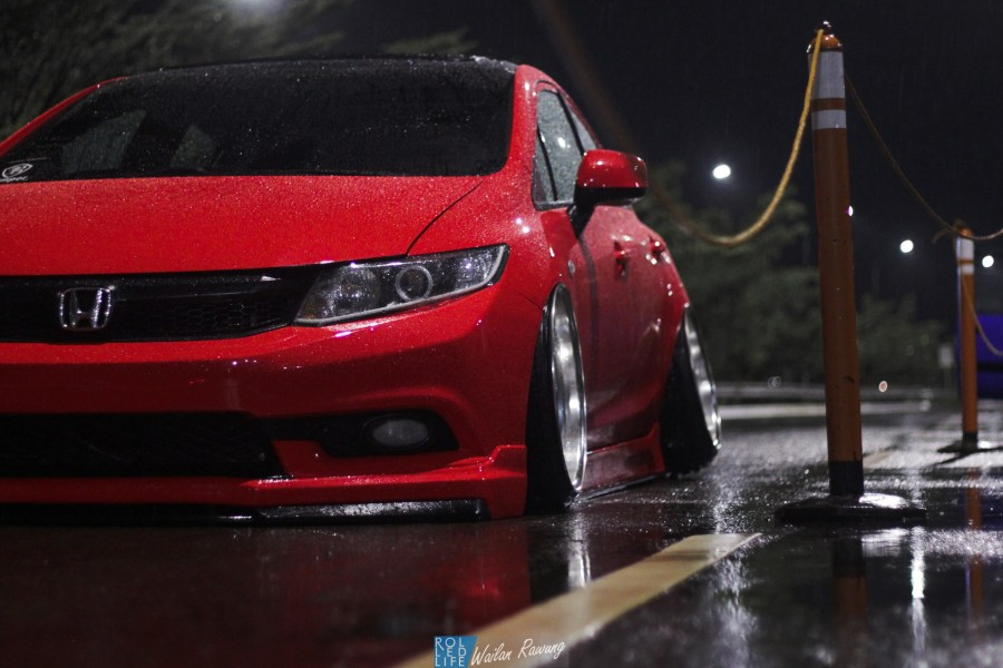 Stance Honda Civic with 326 Power Yabaking-5