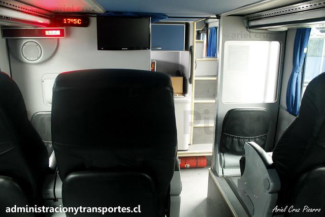 Andesmar Chile - Santiago (Chile) - Metalsur Starbus / Mercedes Benz (FYBK43) (08)