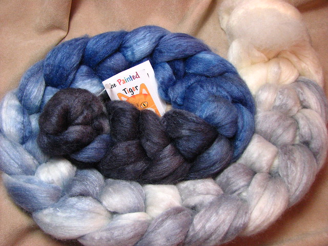 Twenty Below - Dec 2016 Tiger Club - 60/40 Polwarth Wool / Tussah Silk