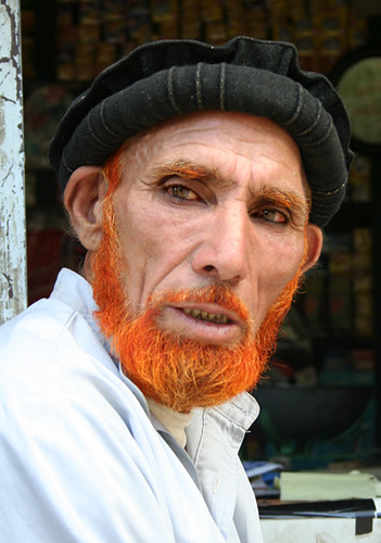 Old Orange Old Man From Kailash He Had All His Hair