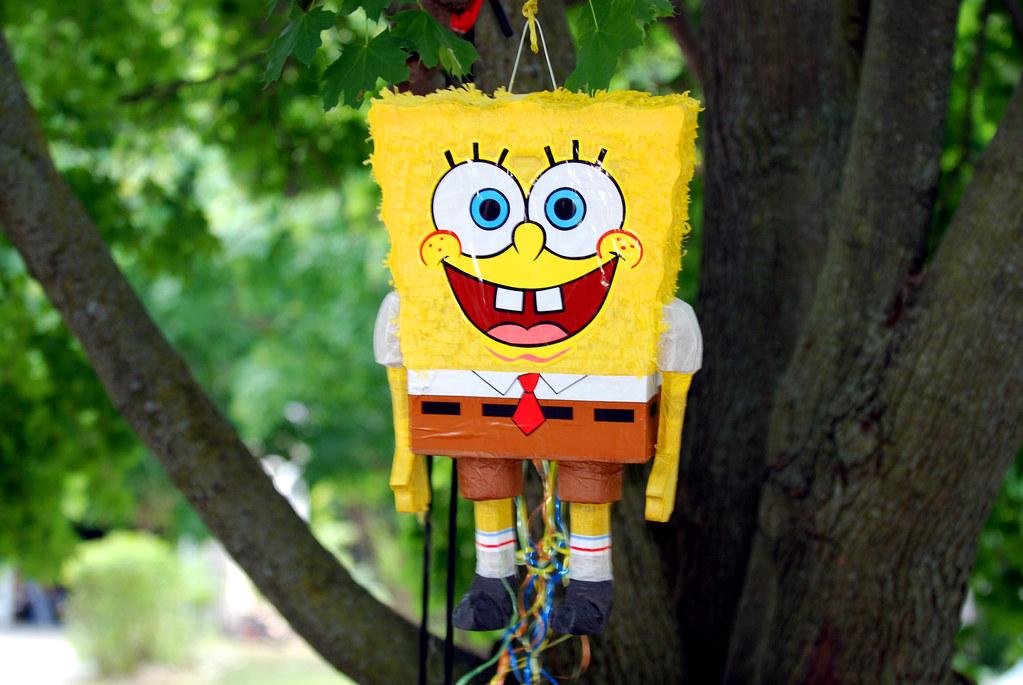 Spongebob Pinata Like In The Sopranos Spongebob Doesn