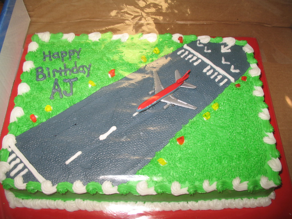 Airport Runway Cake Angie Carroll Flickr