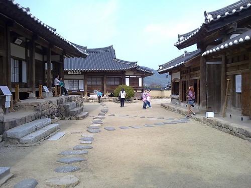 Patrimonio de la Humanidad en Asia y Oceanía. Corea del Sur. Aldeas históricas de Corea: Hahoe.