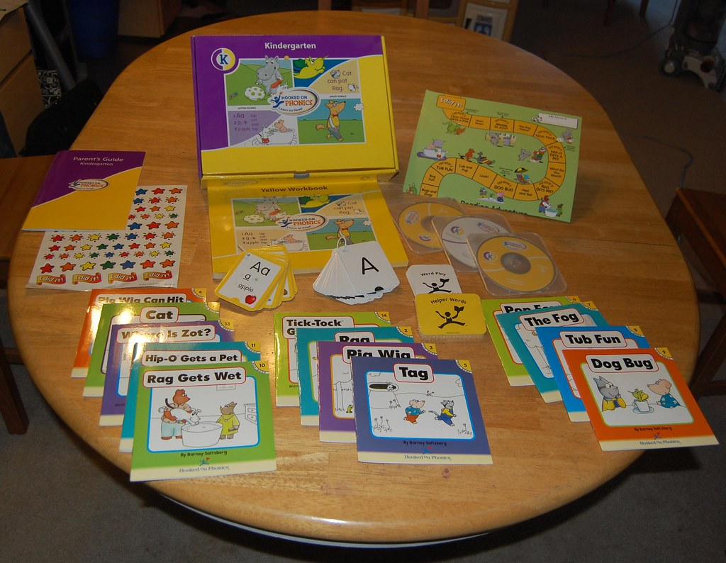 Hooked On Phonics Learn To Read Kindergarten Contents