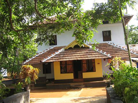 Traditional House At Kerala State India Photo By N G Nir