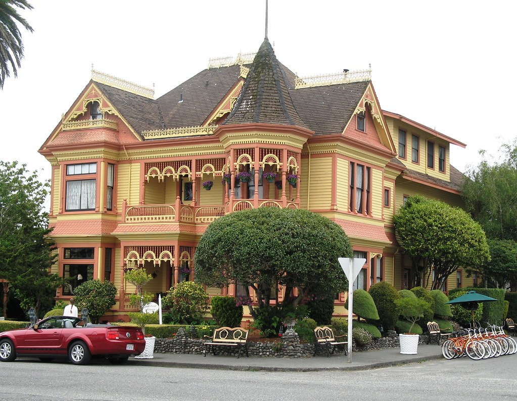 Victorian House Ferndale California One Of Many Original Flickr