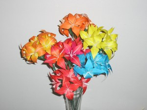 Origami Flower Bouquet | TITLE: Summer Flowers CREATOR