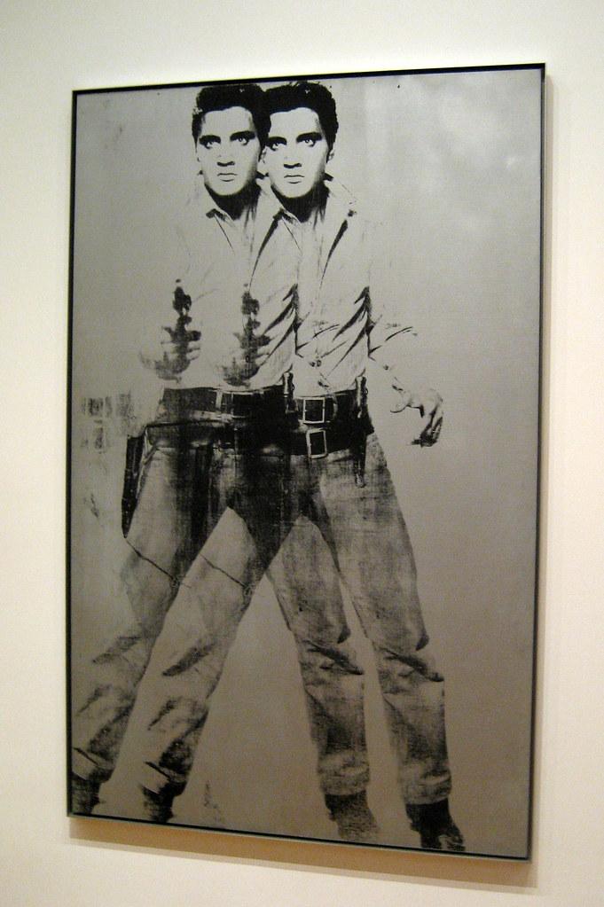 NYC MoMA Andy Warhols Double Elvis Double Elvis