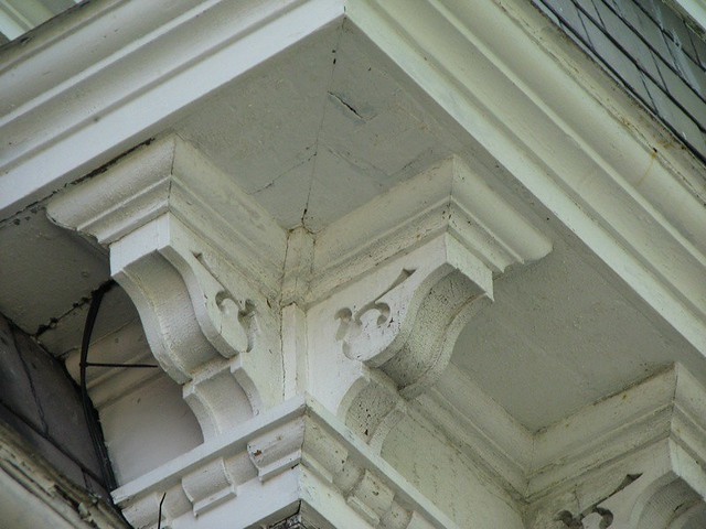 Wainwright House 1825 1881 Corner Cornice Bracket De