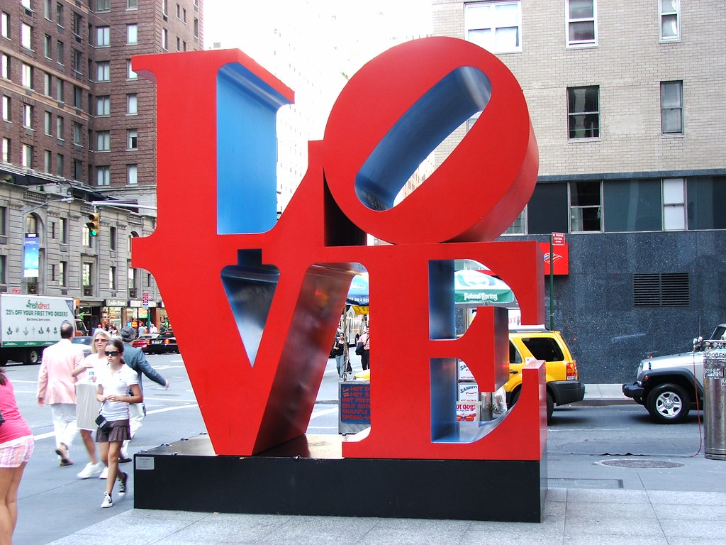 Where Love Sign Nyc