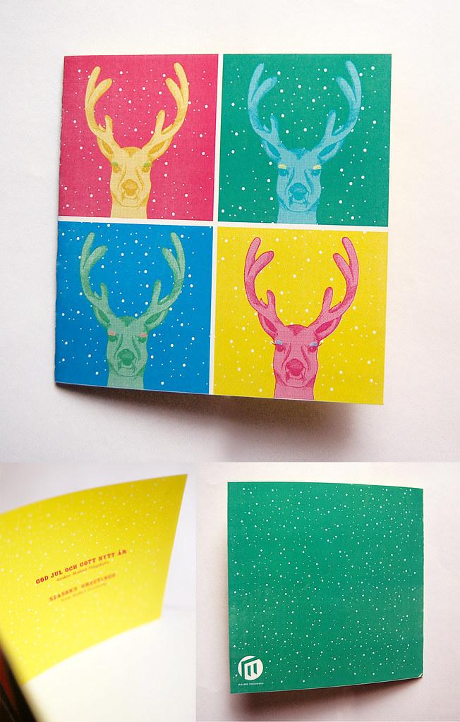 POP ART CHRISTMAS CARD Proposal Design Wwwblekkse