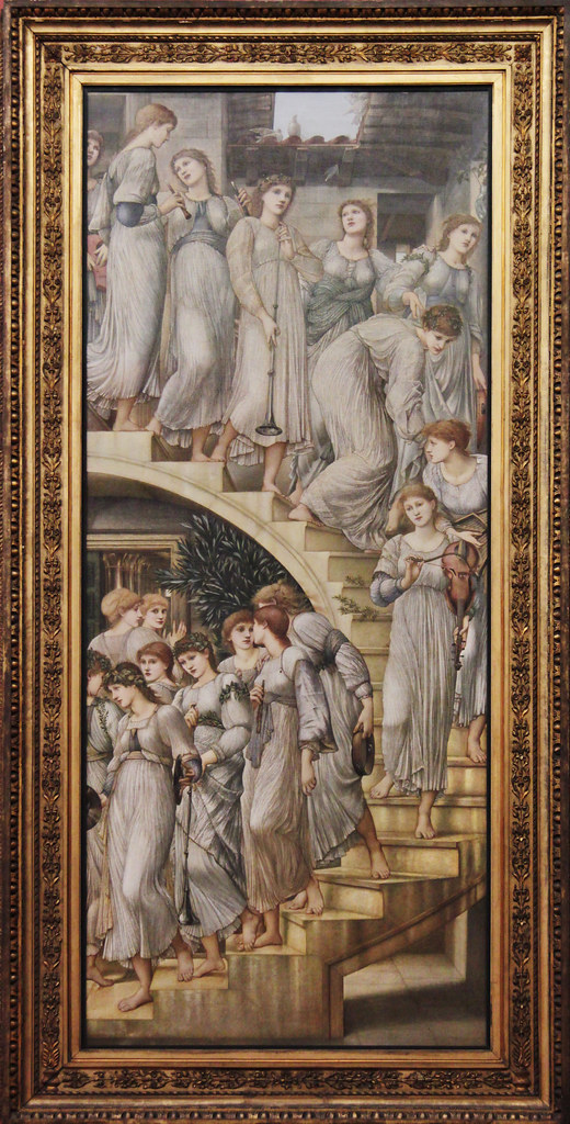 The Golden Stairs Edward Coley Burne Jones 1880 Tate